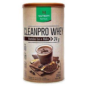 Proteína CleanPro Whey Cacau Nutrify