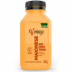 Maionese Vegana Apimentada V-Mayo