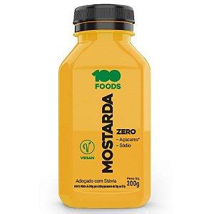 Mostarda Vegana Zero 100Foods