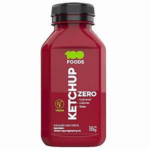 Ketchup Vegano Zero 100Foods