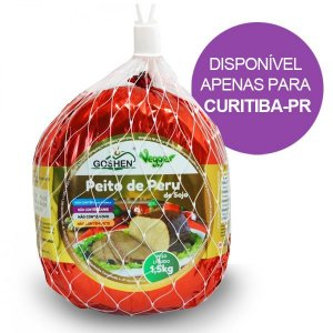 Peito de Peru de Soja Goshen