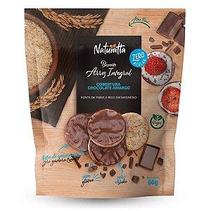 Biscoito de Arroz Chocolate Amargo Zero Açúcar