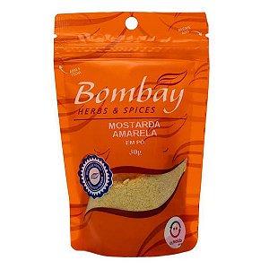 Mostarda Amarela em Pó Sachê Bombay