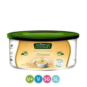 Patê Vegetariano sabor Champignon - Superbom - 125g