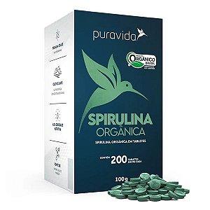 Spirulina Orgânica Tabletes Pura Vida 100g
