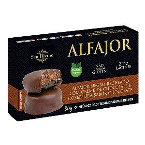Alfajor de Chocolate Sem Glúten Seu Divino