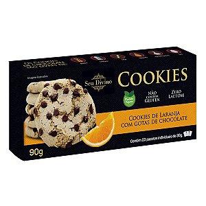 Cookies sabor Laranja Sem Glúten Seu Divino