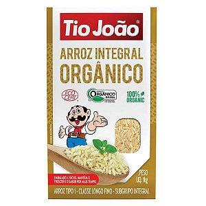 Arroz Integral Orgânico Tio João 1kg
