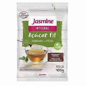 Açúcar Jasmine Fit Demerara + Stevia 400g