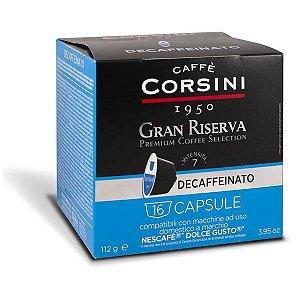 Café Descafeinado Cápsulas Gran Riserva Corsini