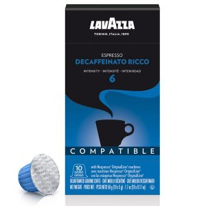 Café Espresso Decaffeinato Ricco Cápsulas Lavazza