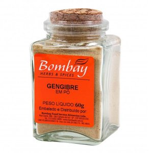 Gengibre em Pó Vidro Bombay