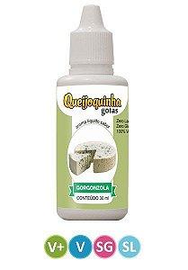 Queijoquinha Gotas - Sabor Gorgonzola - 30ml