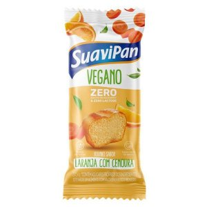 Bolinho Vegano Zero Açúcar Laranja com Cenoura