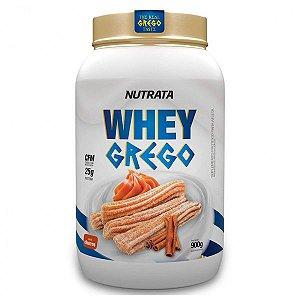 Whey Grego Churros Nutrata 900g