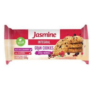 Gran Cookies Integrais Aveia e Berries Jasmine