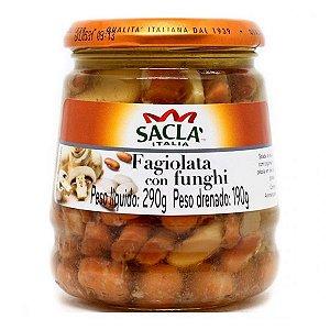 Fagiolata com Funghi Sacla