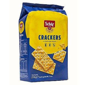 Cracker Biscoito Salgado Sem Glúten Schar 210g