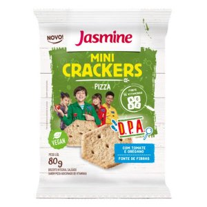 Mini Crackers D.P.A. Pizza Jasmine 80g