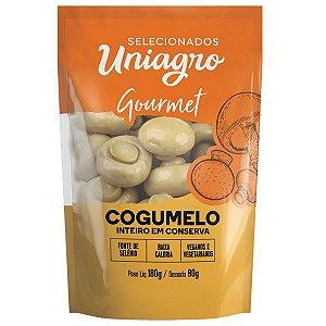 Cogumelo Inteiro em Conserva Uniagro 80g