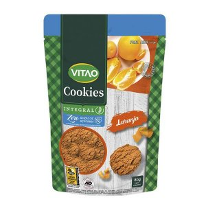 Cookie de Laranja Zero Açúcar Vitao 80g