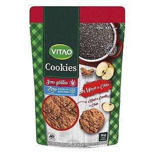 Cookie Maçã e Chia Zero Açúcar Vitao 80g