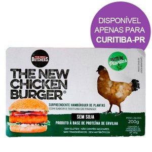 Burguer sabor Frango The New Butchers 200g