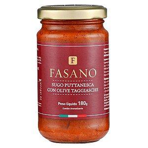 Molho Sugo Puttanesca con Olive Taggiasche Fasano 180g