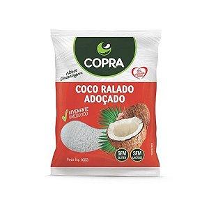 Coco Ralado Fino Adoçado Copra 100g