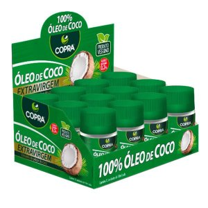 Óleo de Coco Copra Extra Virgem 30ml Caixa 12 UN