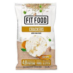 Biscoito Cracker Arroz com Feijão sabor Cúrcuma 40g