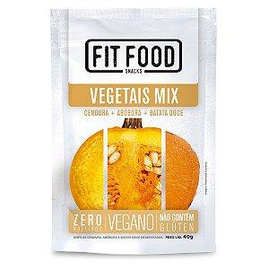 Chips Mix de Vegetais Fit Food 40g