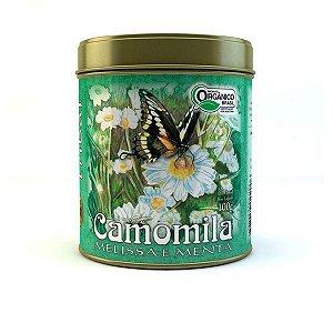 Chá Orgânico Camomila - Lata 100g