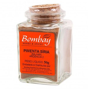 Pimenta Síria em Pó Bombay 50g
