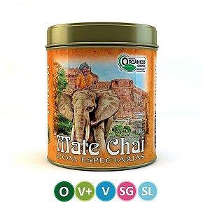 Chá Mate Chai Orgânico - Lata 100g