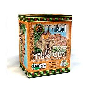 Chá Mate Chai Orgânico - Caixa 15 Sachês