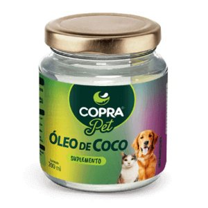 Óleo de Coco para Pets Copra 200ml