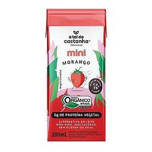 Bebida Vegetal Mini Morango 200ml