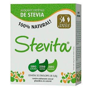Adoçante Stevia em Sachês Stevita 50 UN