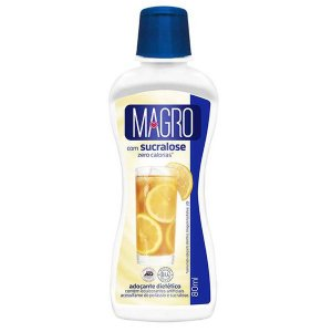 Adoçante Líquido Sucralose Magro 80ml