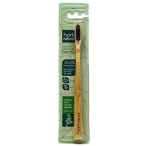 Escova Dental em Bambu e Carvão Boni Natural