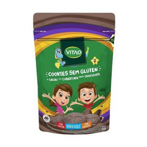 Cookie de Cacau com Chocolate Sem Glúten 80g