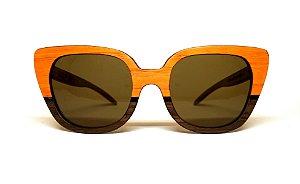 Óculos de Madeira Feminino Dessanech