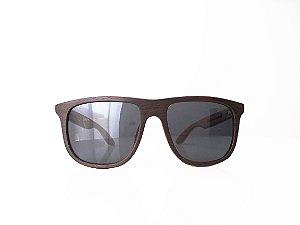 Óculos de madeira masculino Maxacali