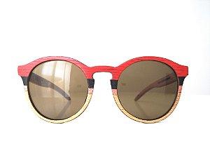 Óculos de Madeira Feminino Puris