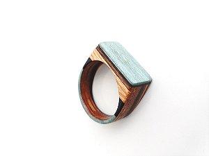 Anel de madeira