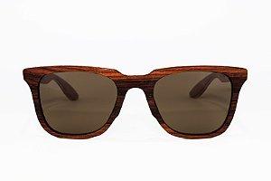 Óculos de madeira masculino Hiva