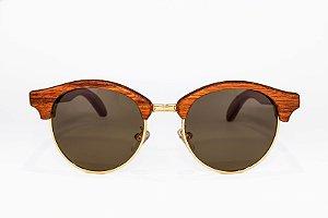 Óculos de madeira feminino Iracema