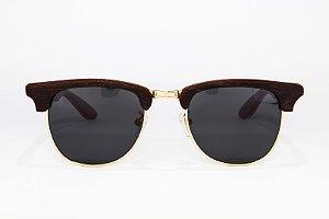 Óculos de madeira masculino Xamã