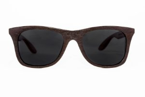 Óculos de madeira masculino Maori